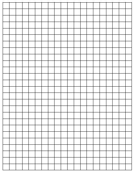 Graph Paper - free grid papers coloring pages