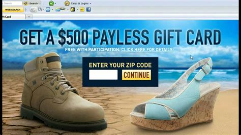 Payless Gift Card - payless coupons payless shoes free 500 payless gift card youtube