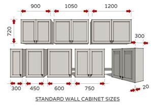 Depth Of Kitchen Wall Cabinets by Standard Dimensions For Australian Kitchens Kitchen Design