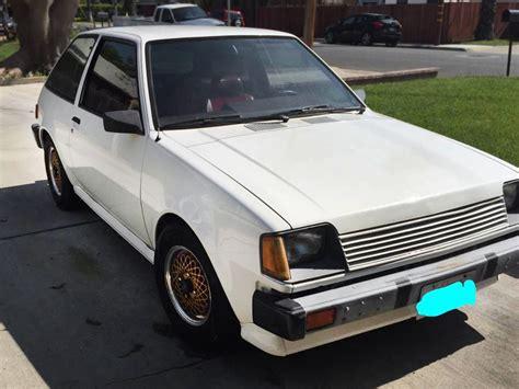 mitsubishi colt turbo version factory turbo car 1984 dodge colt gts turbo