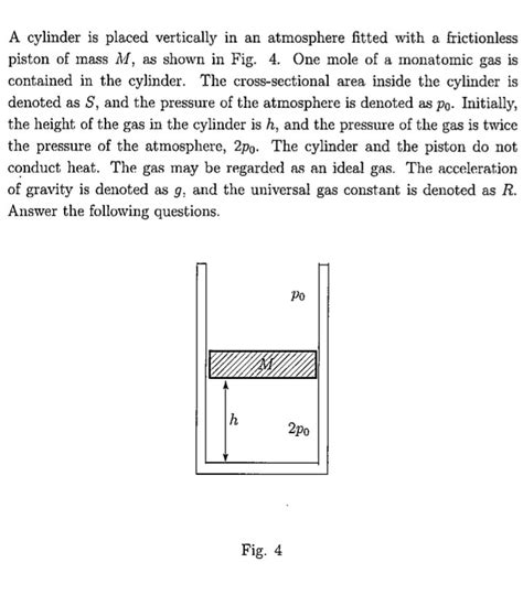 How To Search For Who Work On Thermodynamics How To Find Work Done By Heated Gas And What Causes The Piston To