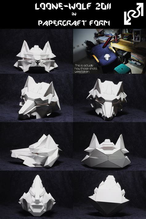Wolf Papercraft - loone wolf 2011 papercraft by loone wolf on deviantart
