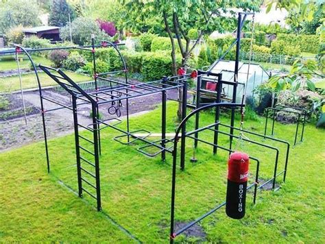backyard monkey bar set outdoor gym outdoor calisthenics pinterest backyards
