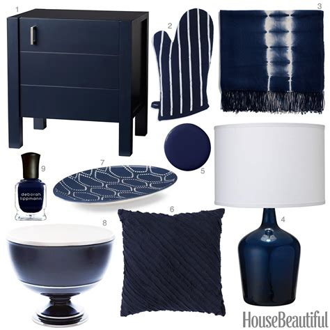 blue home decor accessories inky blue accessories dark blue home decor