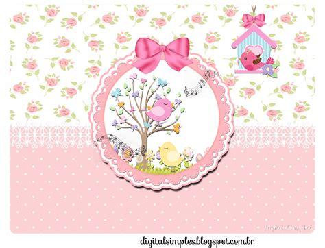 imagenes personalizadas kit de personalizados tema quot passarinhos quot para meninas para