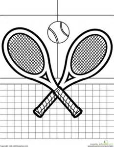 what color is a tennis color the tennis racquets worksheet education