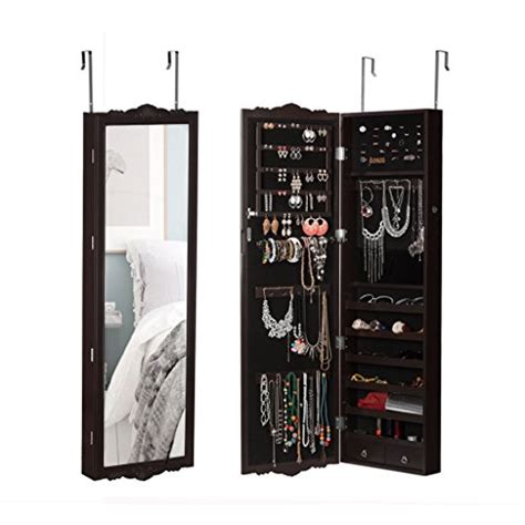 over the door jewelry armoire with full length mirror over the door jewelry armoire with full length mirror 28