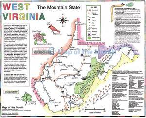 Map Of West Virginia by West Virginia Map Maps For The Classroom