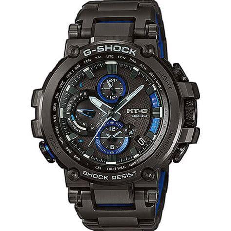 G Shock Mtg 1000 Black Blue g shock mtg b1000bd 1a mtg b1000d 1a with stainless