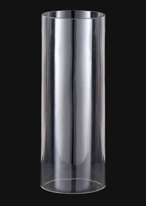 Modern Clear Glass Shades And Mid Century Modern Clear Cylinder Shades 00250c B P L
