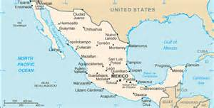 travelblog 187 map of mexico
