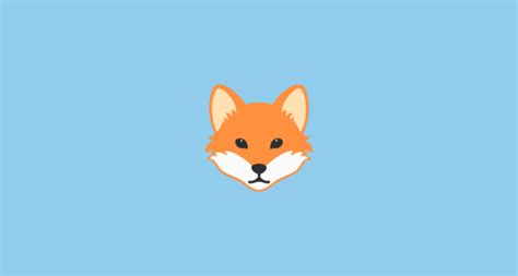 google images fox fox face emoji on google android 7 0