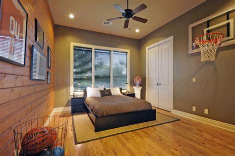 basketball bedrooms boys room eclectic kids austin by van wicklen design