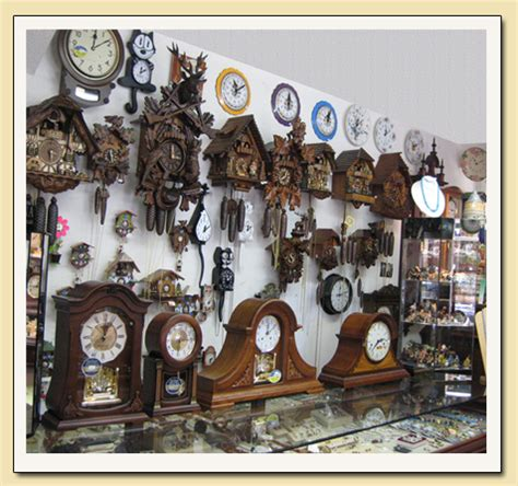 clock shop cuckoo clock repair 3 year guarantee i california