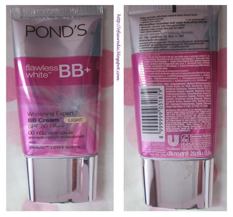 Serum Ponds Yang Kecil pond s bb flawless white ofisu redii