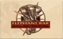 Elephant Bar Gift Card Balance Check - elephant bar gift card discount 32 83 off
