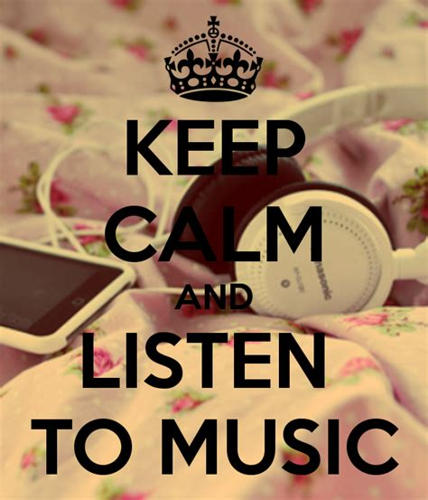 imagenes que digan keep calm image keep calm and listen to music 485 3870 png