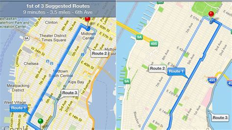 maps and directions maps vs apple maps a side by side comparison
