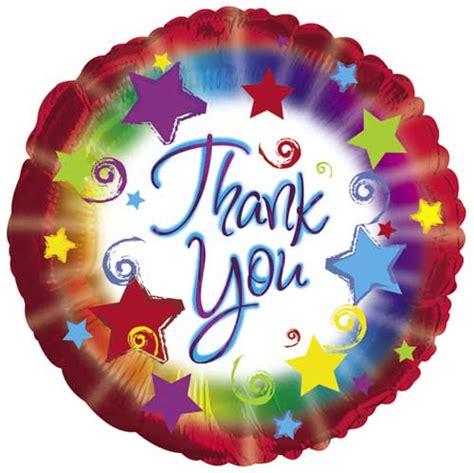 Thank You Letter Balloons Thank You Burst Foil Balloons