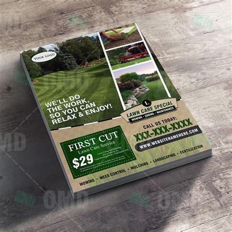 download landscaping flyers landscape channel