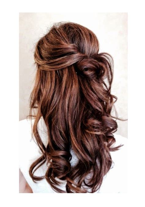 Wedding Guest Hair Half Up by 15 Fabulous Half Up Half Wedding Hairstyles