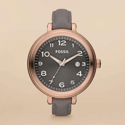 Jam Tangan Pria Cowok Fossil Time Leather B High Quality jam tangan wanita fossil type am4393