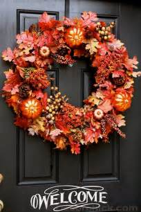 How To Make A Front Door Wreath How To Make An Easy Wreath Fall Front Door Wreath Decorchick