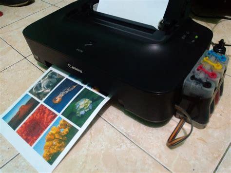 jual beli printer canon ip  infus siap pakai