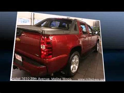 mills chevrolet moline mills chevrolet used 2008 chevy avalanche ltz for sale