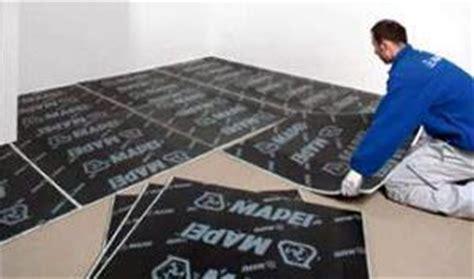 tappeto fonoassorbente pavimento materassino fonoassorbente mapei semplice e comfort in