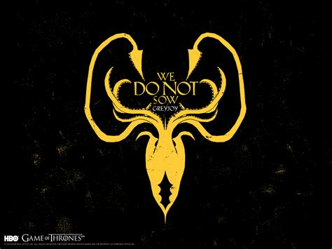 greyjoy wallpaper game of thrones sigil wallpapers making game of thrones