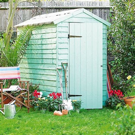 Homebase Garden Shed Paint overlap shed from homebase how to buy sheds and summerhouses ideal home s buyer s guide