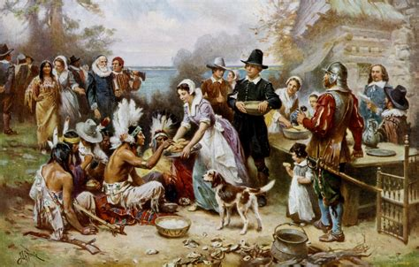 when did the first thanksgiving take place where the first thanksgiving took place historical