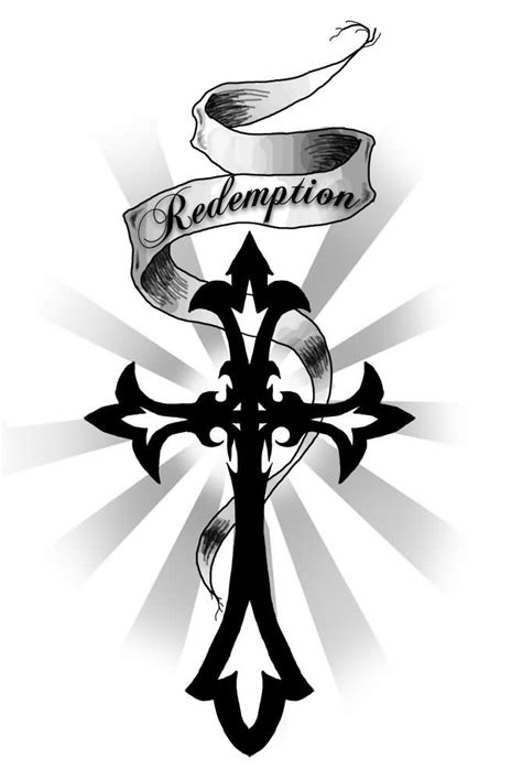 cross ribbon tattoo designs 9 cross designs ideas