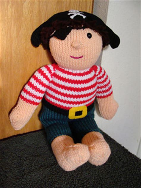 knitting pattern for a pirate doll ravelry pirate pattern by zoe halstead