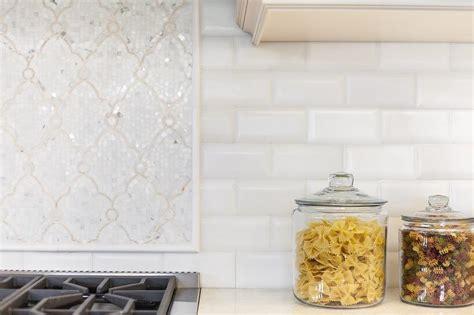 ivory beveled subway kitchen backsplash tiles design ideas