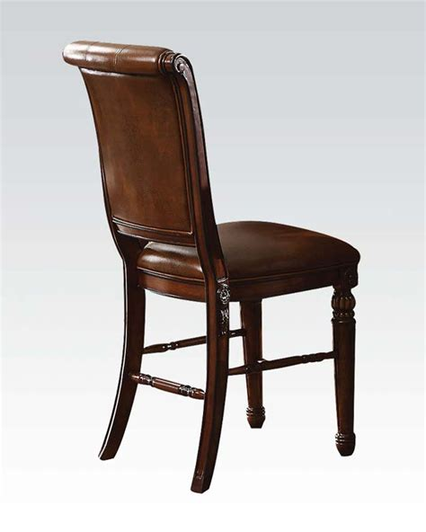Counter Height Chairs Counter Height Chair Winfred By Acme Furniture Ac60082