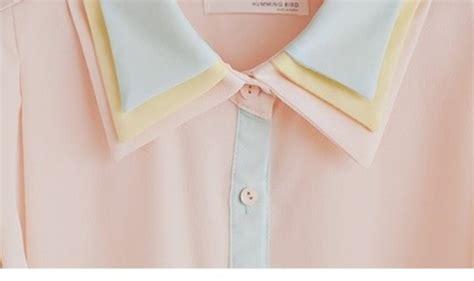 Pastel Blouse by Blouse Pastel Blouse Pastel Pink Pastel Pink Wheretoget