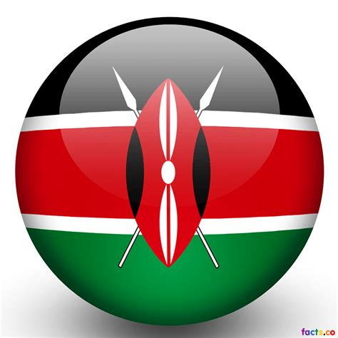 kenya flag colors kenya flag printable flags
