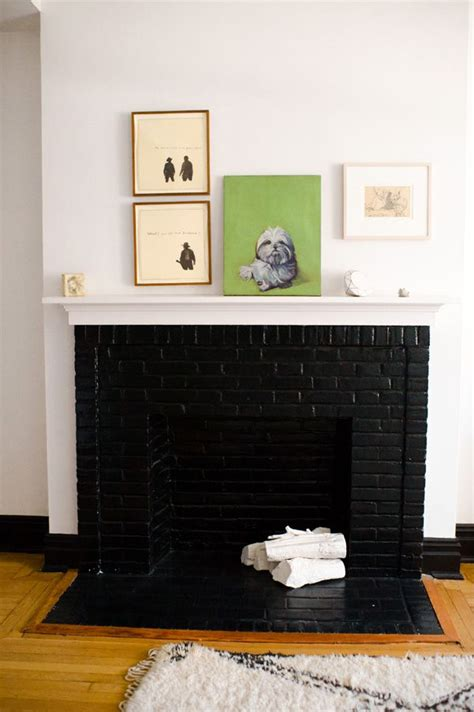 the 25 best black fireplace ideas on black fireplace mantels black brick fireplace