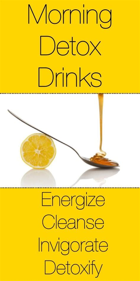 Dr Oz Morning Detox Drink by Detox Drinks Detox And Mornings On