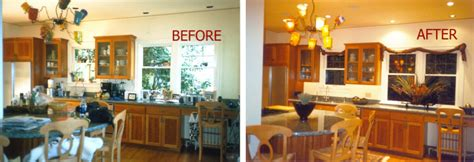the minimalist kitchen declutter your kitchen justifying staging to get properties sold