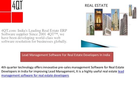 Executive Mba Real Estate Development by Lead Management Software For Real Estate Developers