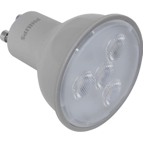 Lu Philips Led 7w philips led dimmable l gu10 5 7w 345lm a toolstation