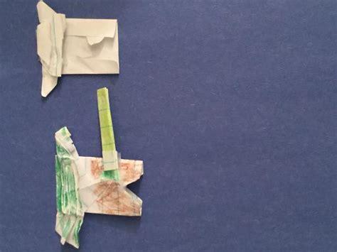 Origami Jahnke Yoda - fold jahnke origami yoda comot