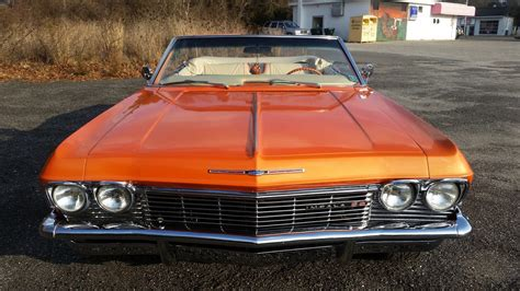 1965 chevy impala ss convertible air bags 22 s restored