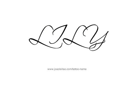 lily name tattoo ideas lily name tattoo designs