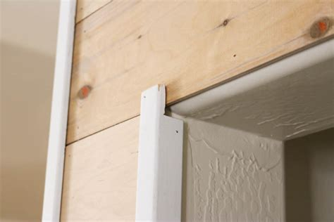 Shiplap Corner Trim How To Easily Install Faux Shiplap Addicted 2 Diy