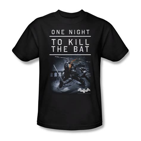 T Shirt Bat Black arkham origins shirt kill the bat black t shirt arkham