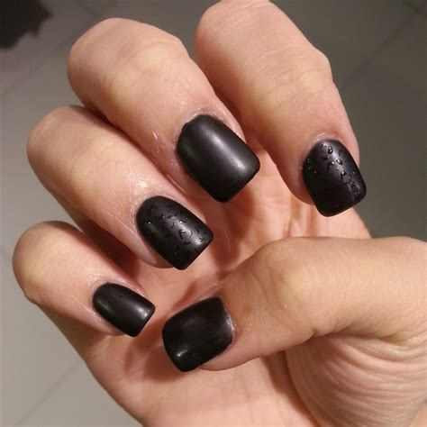 nails matte black matte gel nails how you can do it at home